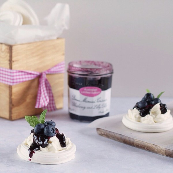 Its French cuisine meets Australian with these Blueberry and Lillyhellip