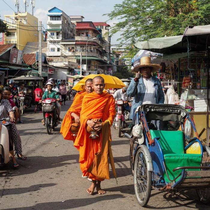 Early morning walk through the backstreets of Phnom Penh washellip