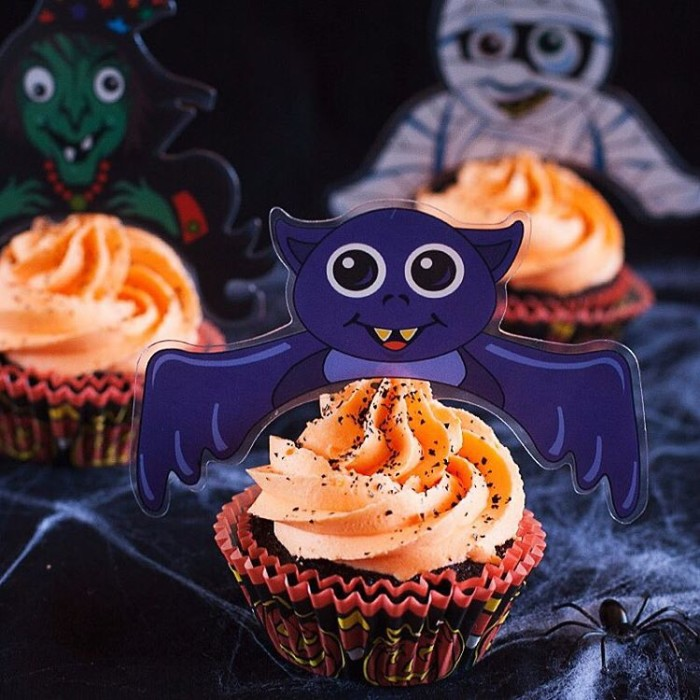 Some more Halloween baking fun thanks to these cute cupcakehellip