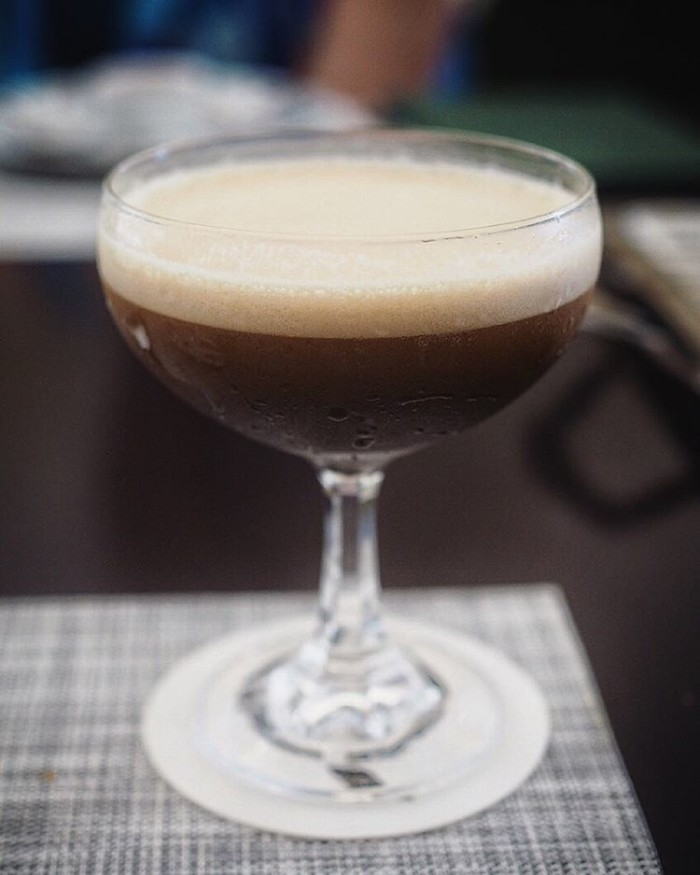 I think its definitely espresso martini oclock!