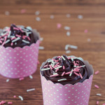 Microwave Chocolate Cupcakes for Two
