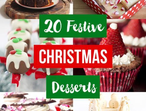 20 Festive Christmas Dessert Recipes