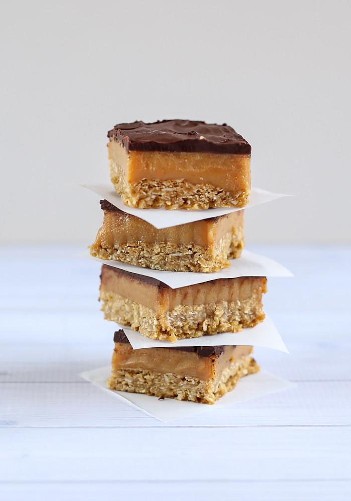 ANZAC Caramel Slice