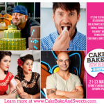 Win a double pass to the Cake Bake Sweets Show!