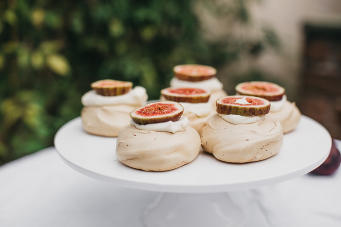 Brown Sugar Pavlovas with Rosewater Cream and Figs - erin made this-7