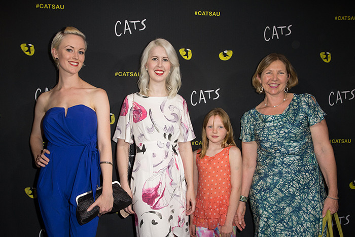 Red Carpet at the premier of Cats the Musical. Pictured is
