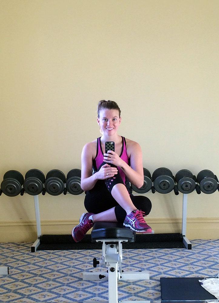 Image 1 Amy Gym Hotel Windsor Eat Pray Workout