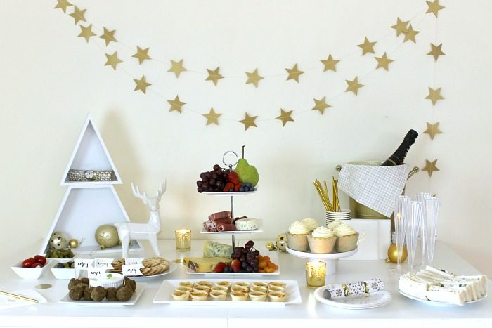 Holiday-themed Party Table