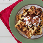 Panettone Waffles – Using up Christmas leftovers