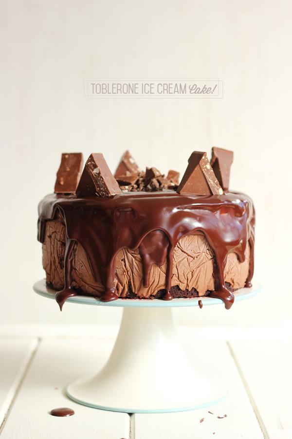 Toblerone Ice Cream Cake 2