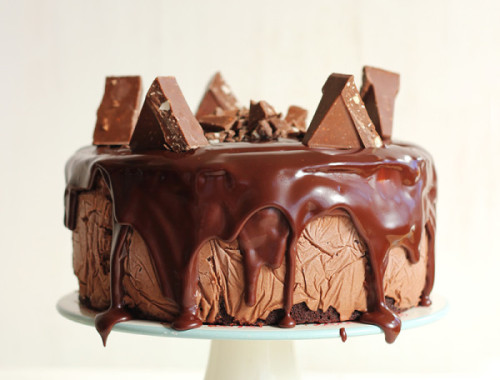 Toblerone Ice Cream Cake 2