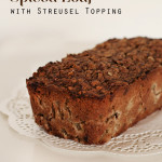 Apple & Walnut Spiced Loaf with Streusel Topping
