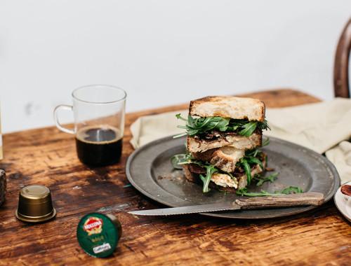 Maple Bacon Sandwich