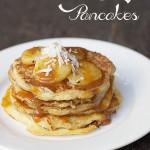 Banana Caramel Pancakes