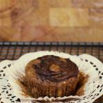 Banana and Nutella Swirl Muffins