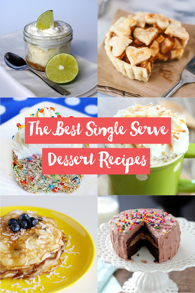 The Best Single Serve Dessert Recipes