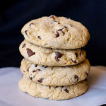 Brown Butter Choc Chip Cookies with Sea Salt