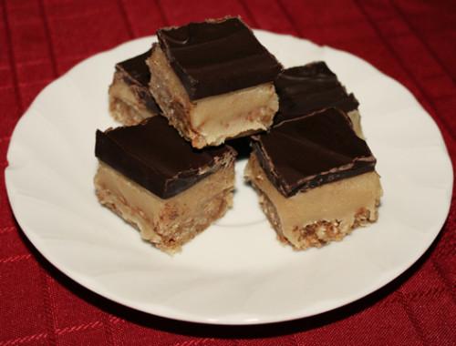 caramel-slice