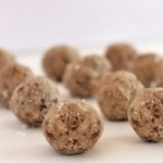 Raw Cashew and Coconut Protein Balls