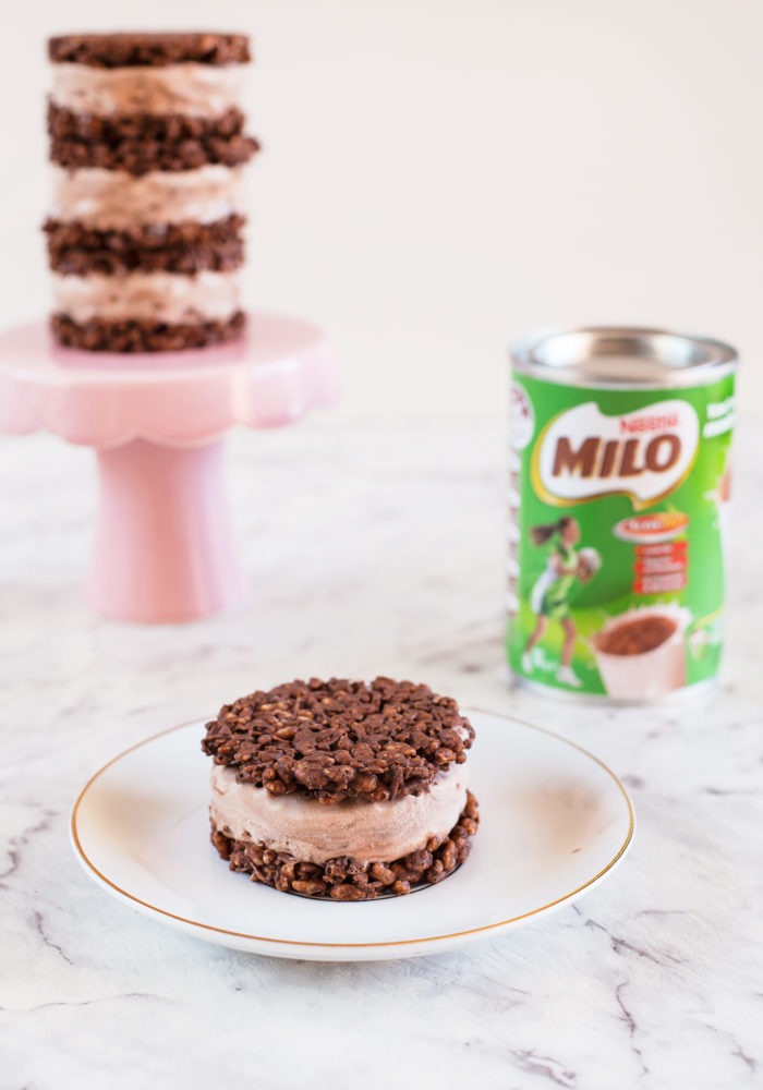 how to make iced chocolate with milo