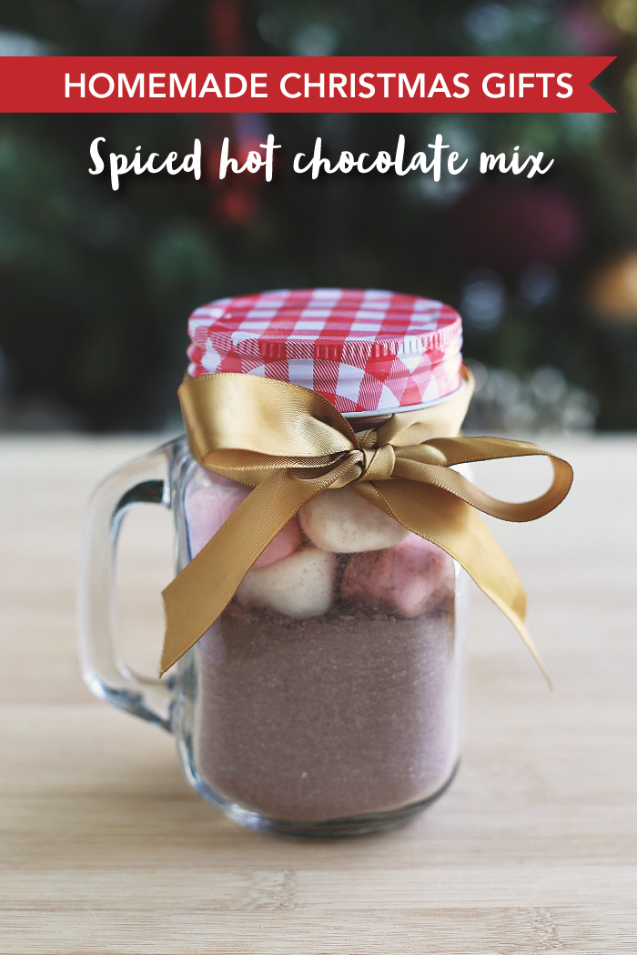 Christmas Spiced Hot Chocolate Mix - Love Swah