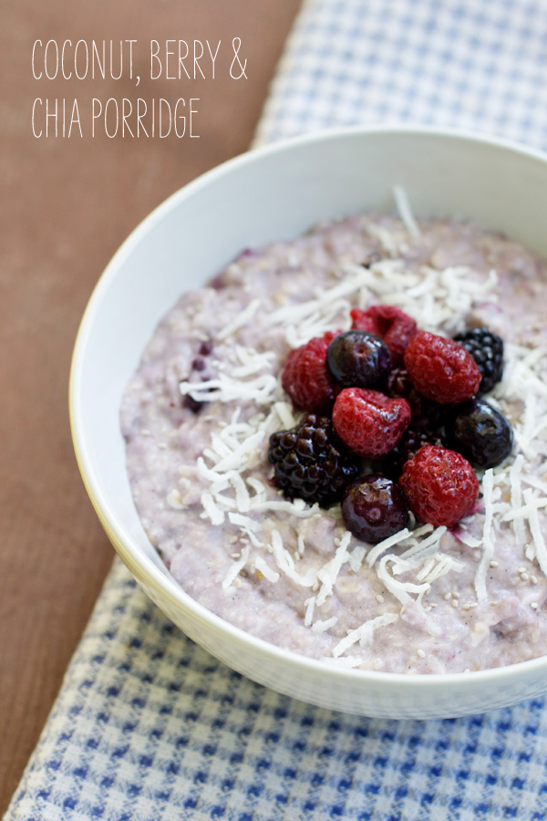 coconut-berry-chia-porridge