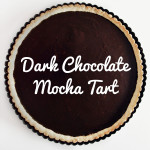 Dark Chocolate Mocha Tart