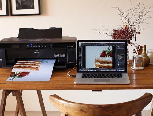 Love Swah Desk feat Epson SureColor Printer