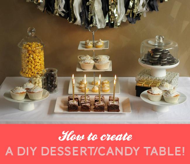 A simple diy dessert candy table love swah a sydney - Tables roulantes dessertes ...