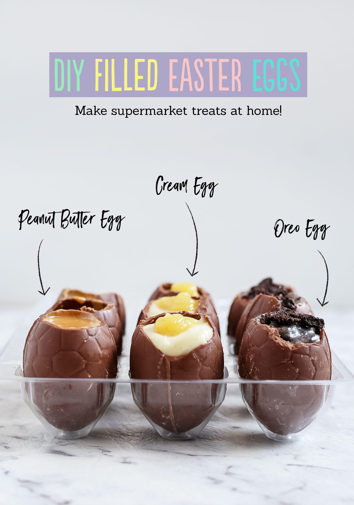 Easter Candy Eggs: DIY Filled Easter Eggs