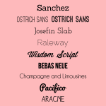 My Favourite Free Fonts