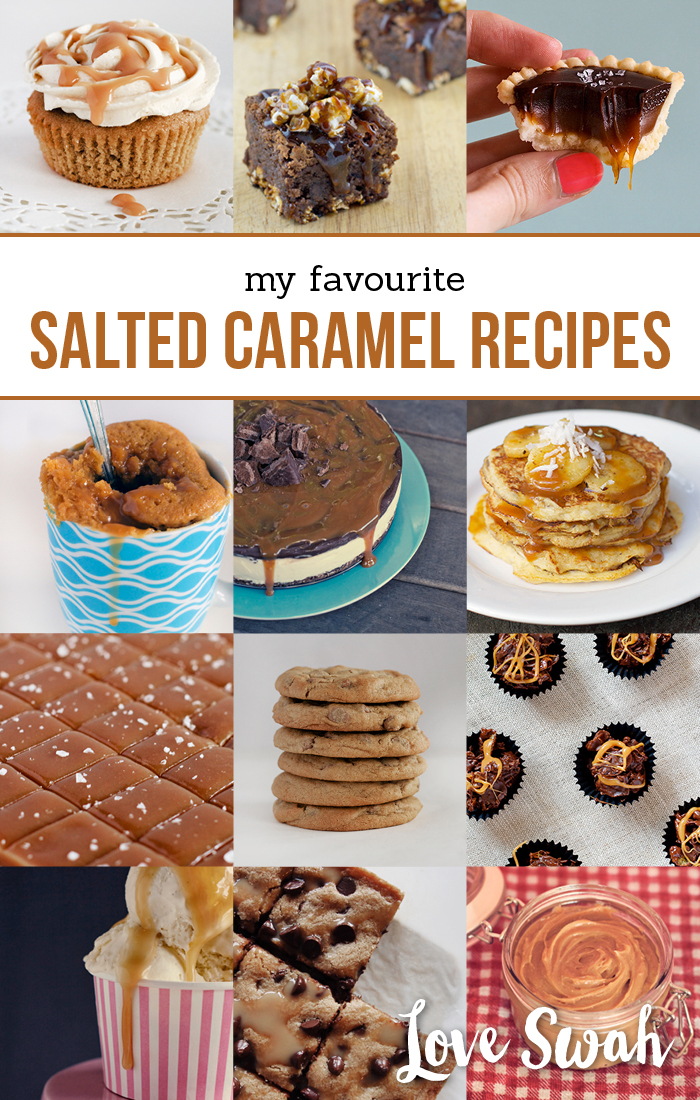 My Favourite Salted Caramel Recipes