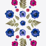 Flower Power: Botanical Patterns by Cocorrina