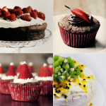 Decorating desserts: Pineapple flowers, sugar art, fruit and more