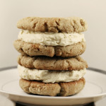 Spiced cookies with salted caramel buttercream