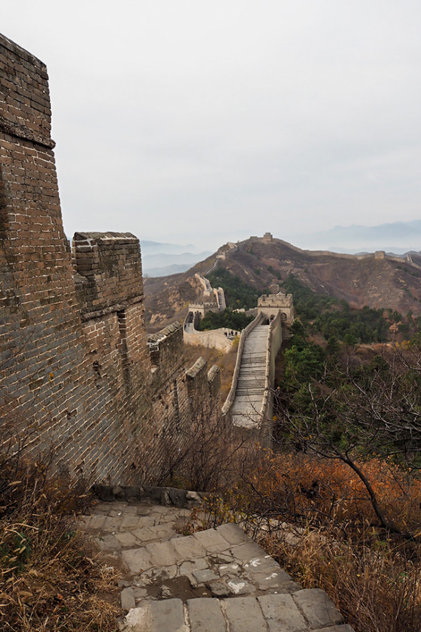 great-wall-of-china-descent