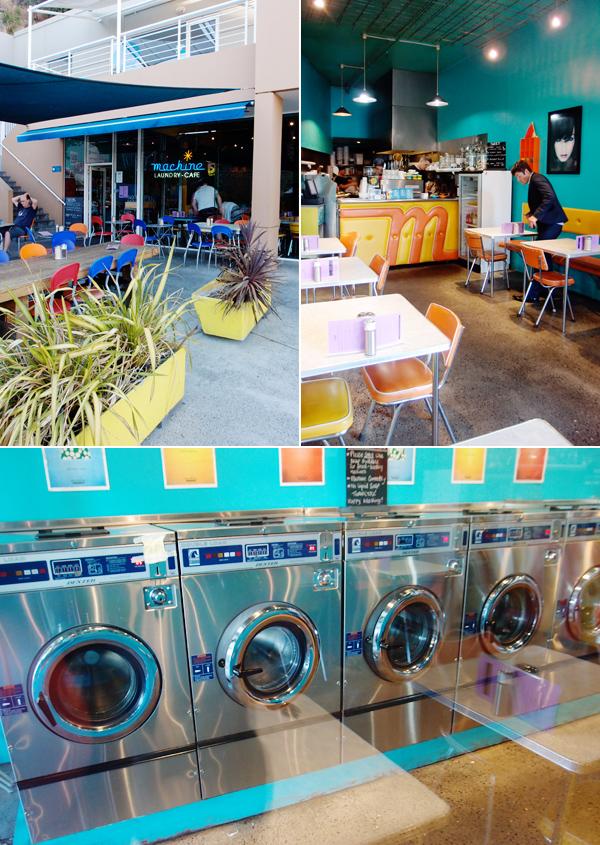 Machine Laundry Cafe Salamanca Menu