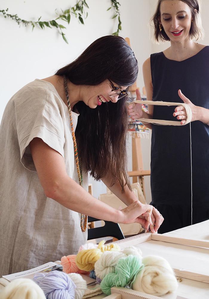 maryanne-moodie-prepping-weave