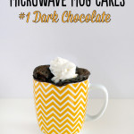 Microwave Mug Cakes – #1 Dark Chocolate
