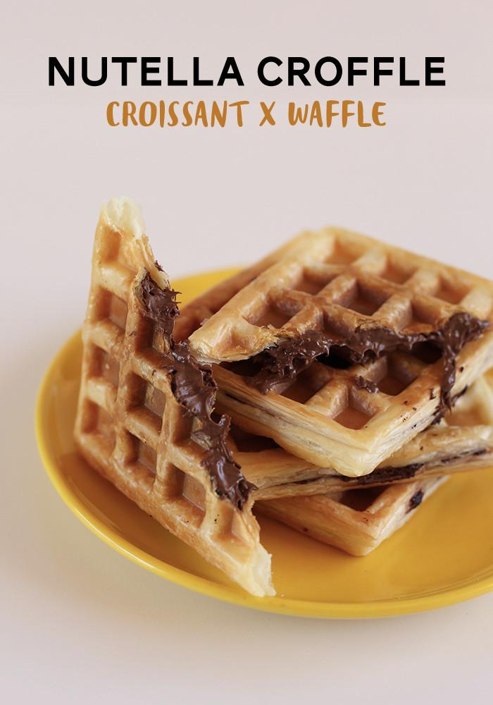 nutella-croffle-croissant-waffle