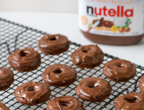 Super Easy 3 Ingredient Nutella Donuts for World Nutella Day