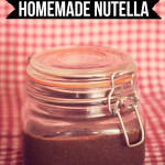 Homemade Nutella (Gluten and Dairy Free!)