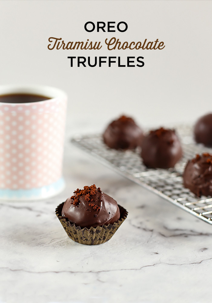 Oreo Tiramisu Chocolate Truffles