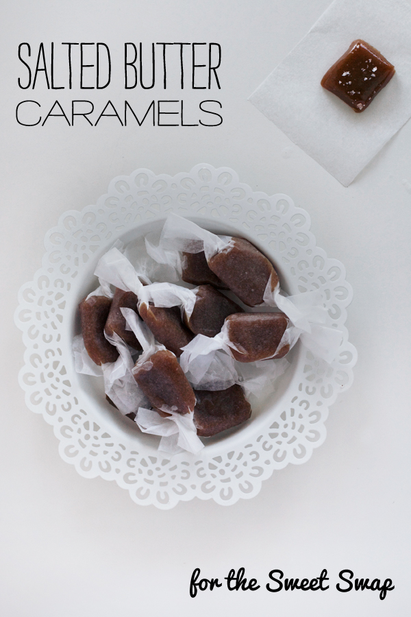 Salted Butter Caramels - The Sweet Swap - Love Swah