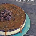 Salted Caramel and Tim Tam Cheesecake