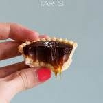 Super Easy Mini Salted Caramel Tarts