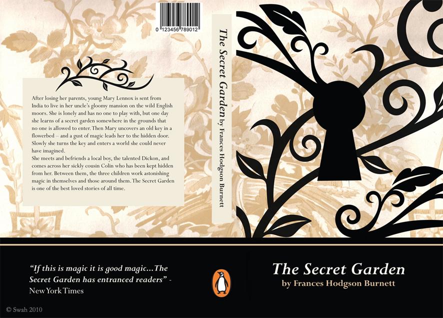 Book Cover Design The Secret Garden Love Swah