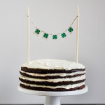 Guinness Layer Cake with Whiskey Ganache and Baileys Icing