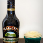 St Patricks Day &#8211; Green Velvet Cupcakes with Baileys Cream Cheese Icing