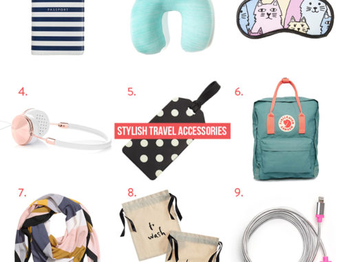 Stylish Travel Accessories